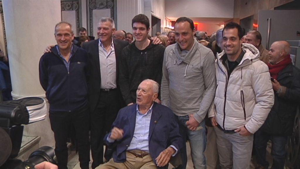 Gallastegi cumple 100 años y recibe la felicitación del mundo de la pelota