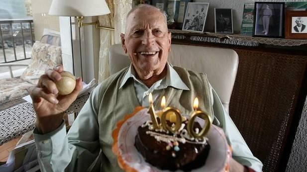 Miguel Gallastegi cumple hoy domingo 100 años