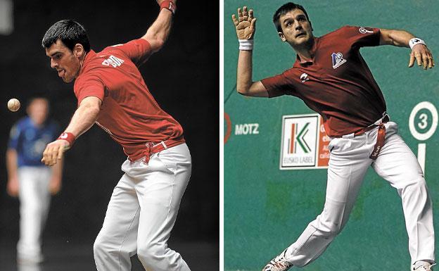 Joseba Ezkurdia y Danel Elezkano son jóvenes pero sobradamente preparados