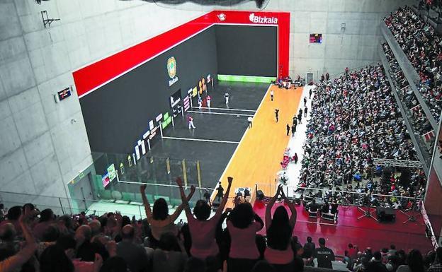 El frontón Bizkaia registrará el domingo 27 un lleno hasta la bandera con 3.000 asistentes