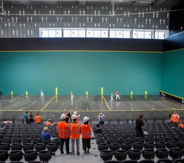 Probando el Navarra Arena