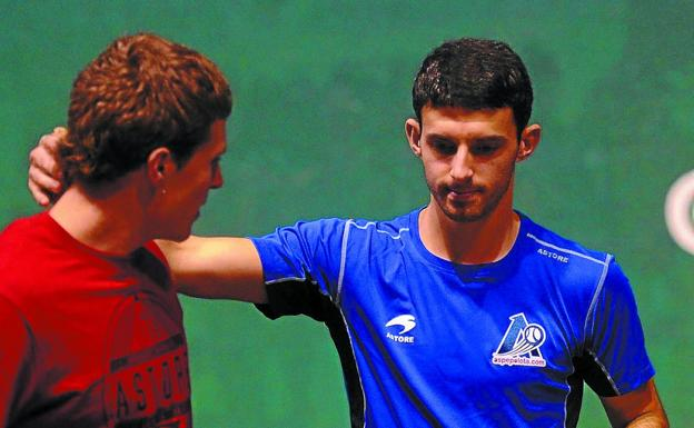 Iñaki Artola y Jokin Altuna comparten una estrecha amistad