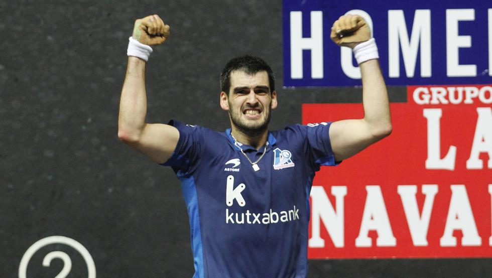 Joseba Ezkurdia jugará la final del Master Codere en el Navarra Arena