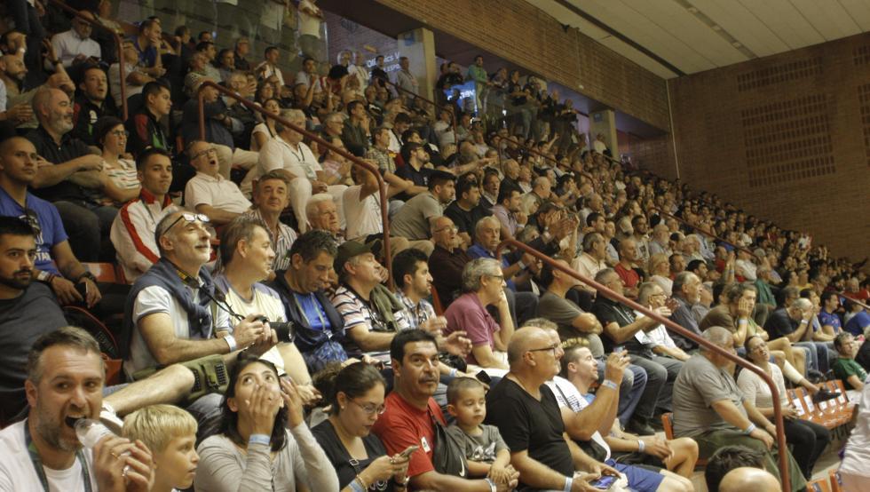 El público ha acompañado en la mayoría de partidos a los jugadores