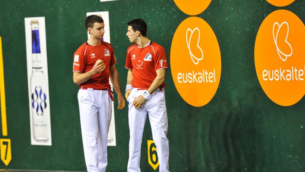 Altuna y Martija se colocan con tres puntos en el Parejas