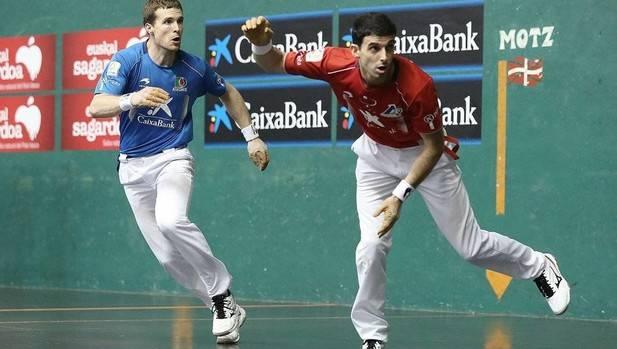 Iñaki Artola e Íñigo Altuna, en un duelo anterior