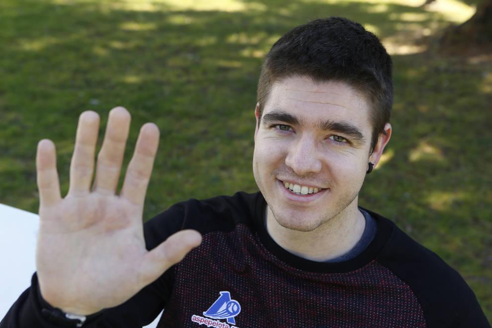 Iker Irribarria jugará el domingo próximo su tercera final del Campeonato de Parejas, en la que parte como favorito para hacerse con la txapela