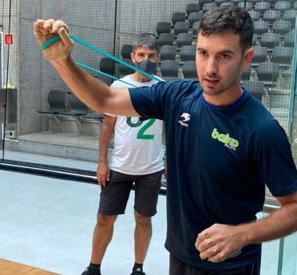 Mikel Urrutikoetxea regresará en Arrigorriaga tras probarse el miércoles en el Frontón Bizkaia