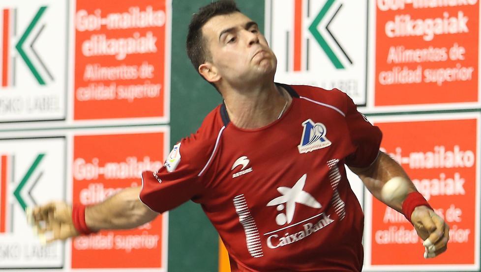 Erik Jaka supera la primera ronda del Manomanista y se medirá en cuartos a Urrutikoetxea