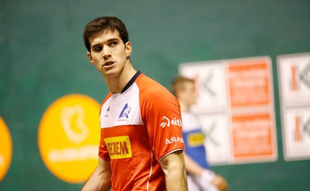 José Javier Zabaleta ha causado sensación en el presente Campeonato de Parejas