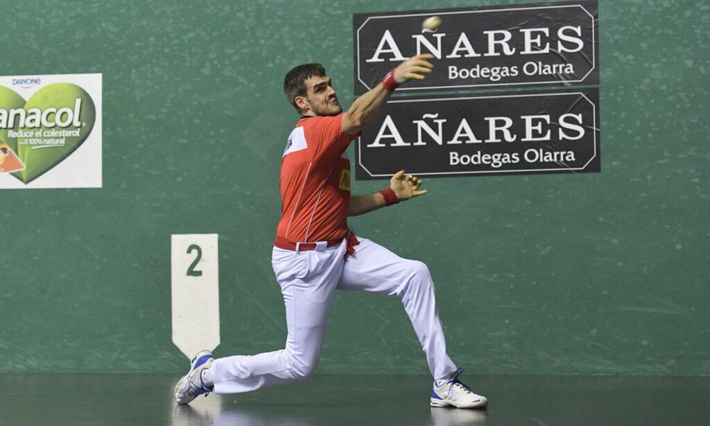 Joseba Ezkurdia, binakakoan jokatutako partida batean
