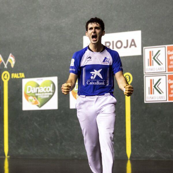 Jokin Altuna, en una imagen de un partido anterior